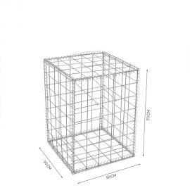 Gabion cage Longueur 50 cm x Epaisseur 50 cm x Hauteur 70 cm fil 4.5 mm