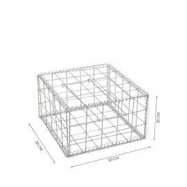 Gabion cage Longueur 50 cm x Epaisseur 50 cm x Hauteur 30 cm fil 4.5 mm qualité professionnel