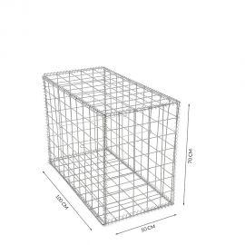 Gabion cage Longueur 50 cm x Epaisseur 100 cm x Hauteur 70cm fil 4.5 mm qualité professionnel