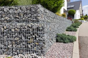 mur de soutennement gabion